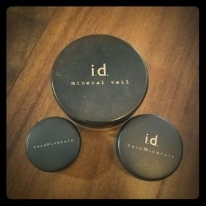 3 piece lot of Bare Minerals makeup